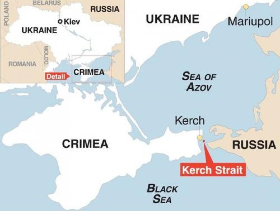 Η Ρωσία μπλοκάρει την πρόσβαση της Ουκρανίας στη Μαύρη Θάλασσα -  Στο κόκκινο οι σχέσεις με τη Δύση