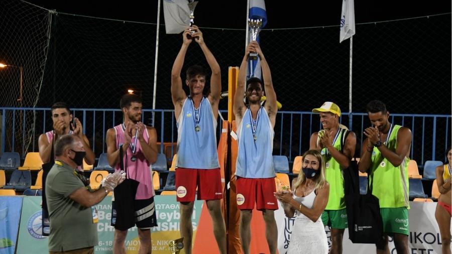 Πρωταθλητές Ελλάδας ο Άγγελος Μανδηλάρης και ο Ιάσονας Κανέλλος!