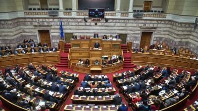 Βουλή: Υπερψηφίστηκε με 158 «ναι» ο προϋπολογισμός για το 2021