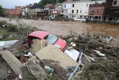 Μεγάλες καταστροφές στις χειρότερες, εδώ και δεκαετίες, πλημμύρες στο Βέλγιο