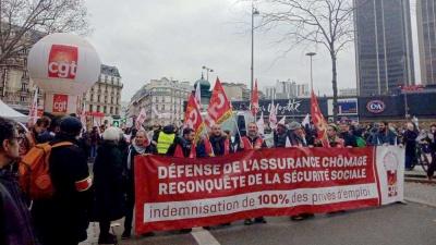 Γαλλία: Επεισόδια και δακρυγόνα στους δρόμους του Παρισιού κατά του νομοσχεδίου για το συνταξιοδοτικό