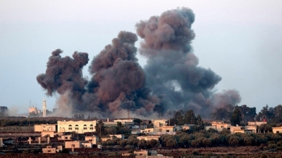 Η συριακή πολεμική αεροπορία έκανε χρήση χημικών όπλων στο Σαρακέμπ