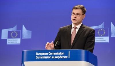 Dombrovskis (Ευρ. Επιτροπή): Δεν αποκλείεται ένα Brexit χωρίς συμφωνία