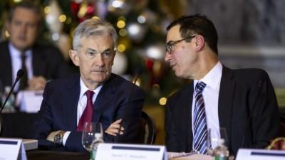 Powell - Mnuchin: Η αβεβαιότητα ταλανίζει τις ΗΠΑ, αλλά τα χειρότερα πέρασαν