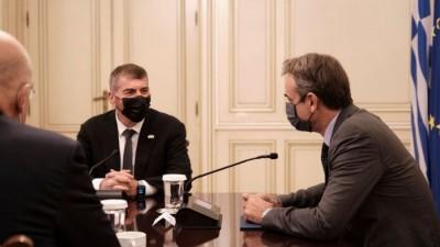 Συνάντηση Μητσοτάκη με Ισραηλινό ΥΠΕΞ – Στο επίκεντρο οι τουρκικές προκλήσεις
