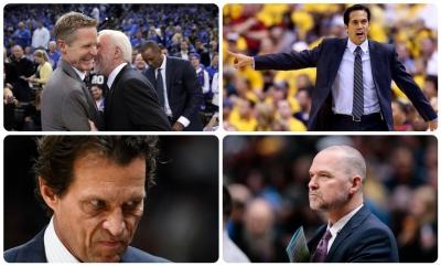NBA : Πέντε προπονητές φυλάνε... Θερμοπύλες στους πάγκους
