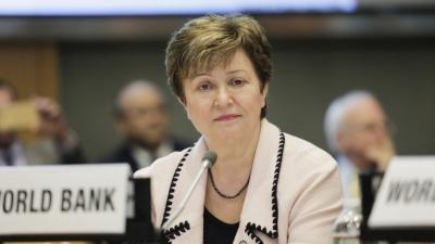 Georgieva (ΔΝΤ): Να μην υπάρξει πρόωρη απόσυρση των δημοσιονομικών μέτρων
