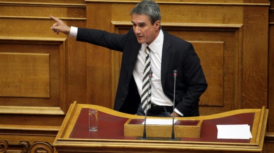 Ο Λοβέρδος θέτει θέμα ανεμβολίαστων βουλευτών: Να τοποθετούνται μέσω τηλεδιάσκεψης