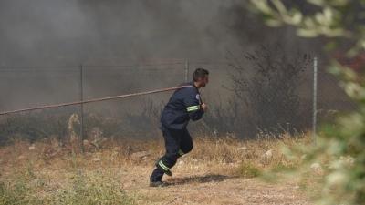 Σε ετοιμότητα δύο νοσοκομεία στην Αχαΐα, λόγω της μεγάλης πυρκαγιάς