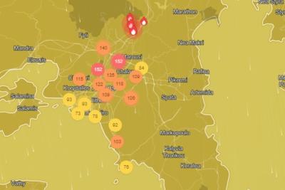 Ποιες περιοχές της Αττικής έχουν τον πιο μολυσμένο αέρα