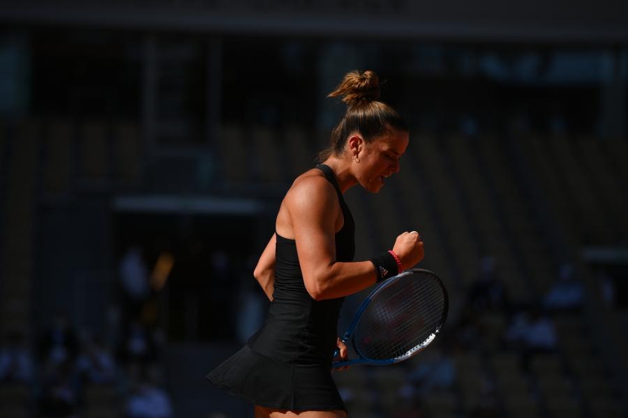 Roland Garros: «Λύγισε» στην ψυχραιμία της Κρεϊτσίκοβα η εξαιρετική Σάκκαρη