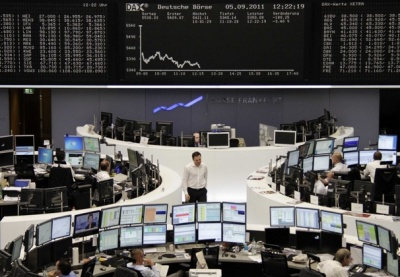 Στο «κόκκινο» οι ευρωαγορές, με «φόντο» την ένταση με Ρωσία - Στο -0,83% ο DAX