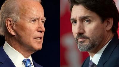 Με τον Καναδό πρωθυπουργό η πρώτη διμερής συνάντηση του Biden στις 23/2