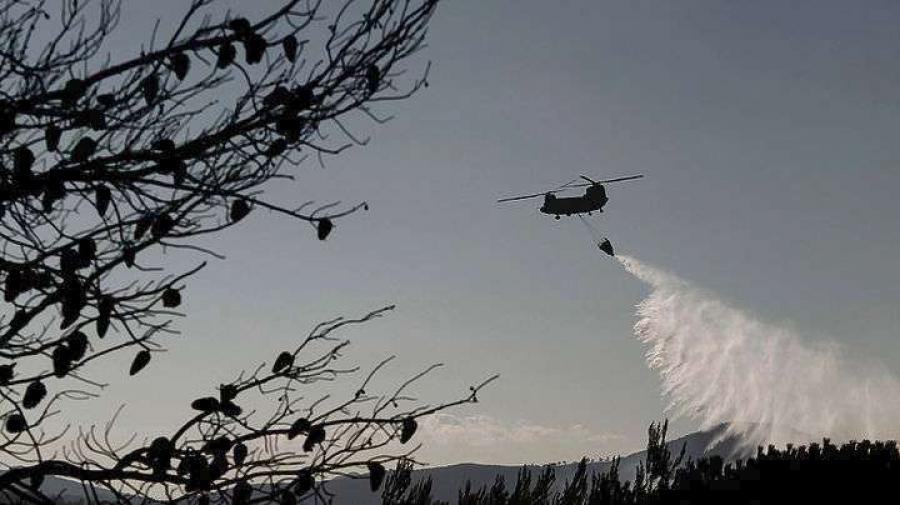 Ένοπλες Δυνάμεις: Σε μέγιστη ετοιμότητα για συνδρομή στη κατάσβεση των πυρκαγιών