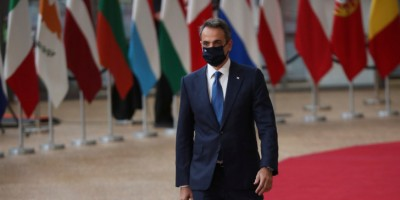Σύνοδος Κορυφής: Συνάντηση Κ. Μητσοτάκη, Conte, Costa, Sanchez με τους 4 του Βορρά