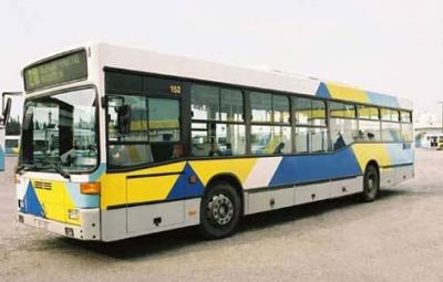 Αττική: Φωτιά σε αστικό λεωφορείο στη Λεωφόρο Ποσειδώνος