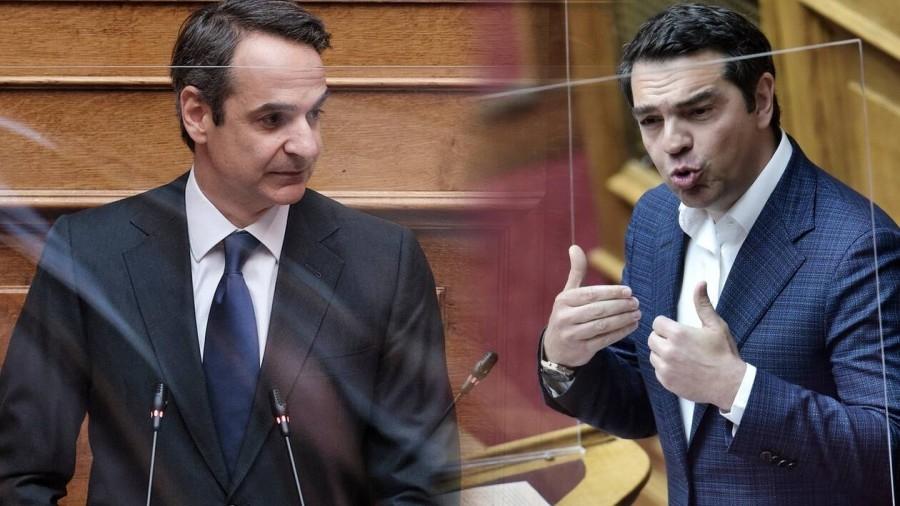 Κόντρα στη Βουλή για μια... πολυκατοικία: Το πτυχίο του Τσίπρα και ο μπαταχτσής Μητσοτάκης