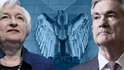Yellen (ΥΠΟΙΚ) - Powell (Fed): Ισχυρό το χρηματοπιστωτικό σύστημα των ΗΠΑ