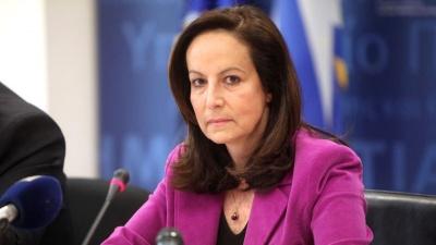 Διαμαντοπούλου: Οπισθοδρομική η άρνηση Τσίπρα για αναθεώρηση του άρθρου 16