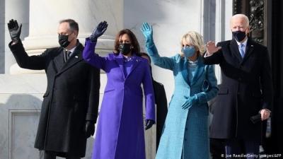 ΗΠΑ: Ορκίστηκε ο Joe Biden - Φωτογραφίες από την τελετή στο Καπιτώλιο