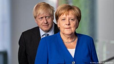 Merkel - Johnson - Rutte: Συμφώνησαν στην χορήγηση βοήθειας και σε κοινή προσέγγιση των Ταλιμπάν