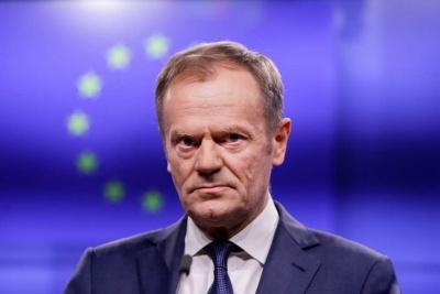 Στην Αθήνα σήμερα 9/10 ο πρόεδρος του Ευρωπαϊκού Συμβουλίου Donald Tusk – Συνάντηση με Μητσοτάκη