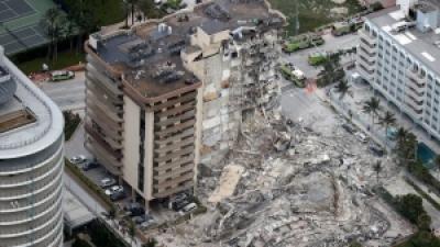 Αυξήθηκαν στους 9 οι νεκροί από την κατάρρευση της πολυκατοικίας στη Φλόριντα, 152 οι αγνοούμενοι