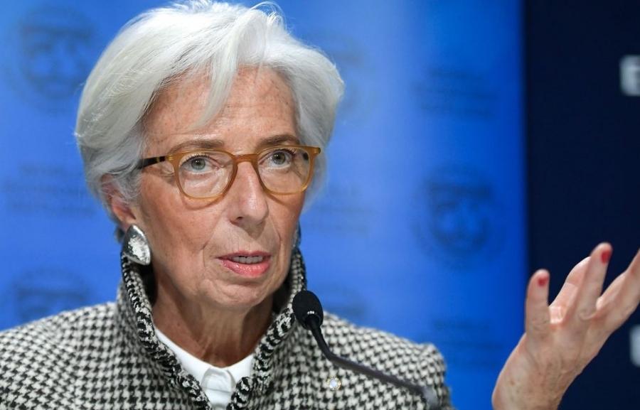 Lagarde (ΕΚΤ): Έλλειμμα -6,1% στην Ευρωζώνη το 2021 - Κρίσιμος δείκτης οι αποδόσεις των ομολόγων