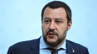 Salvini: Tα χρηματοοικονομικά λόμπι στις Βρυξέλλες δεν μπορούν να δεχθούν την παρουσία μας στην κυβέρνηση