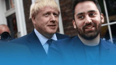 Υποψήφιος ετών 25 και μετανάστης απειλεί τον Johnson στην «έδρα» του