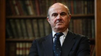 De Guindos (ΕΚΤ): Μεγάλη η αβεβαιότητα για τις προοπτικές της οικονομίας της ευρωζώνης