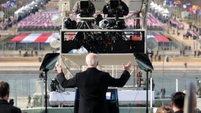 Αφιέρωμα Time: Αυτές είναι οι καλύτερες φωτογραφίες από την ορκωμοσία Biden - Harris