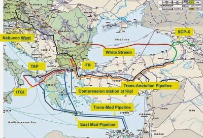 Η σύμβαση Μυτιληναίος - Gazprom αναδεικνύει τον κομβικό ρόλο της Ελλάδας στον ενεργειακό πόλεμο της Μεσογείου