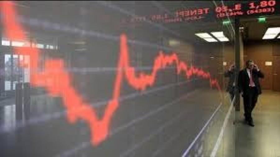 Λίγο μετά το κλείσιμο του ΧΑ – Η μέρα -0,20%, η εβδομάδα -2,63%, ο μήνας -3,33% και ο χρόνος -32,62%