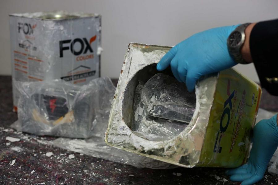Κατασχέθηκαν 23 τόνοι κοκαΐνης αξίας 600 εκατομμυρίων ευρώ - Μεταφέρονταν μέσα σε... μπογιές