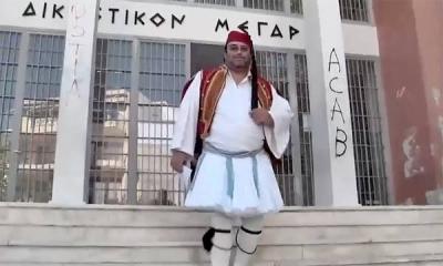 Πύργος: Ποινή φυλάκισης 14 μηνών στον πατέρα - αρνητή που είχε ντυθεί τσολιάς