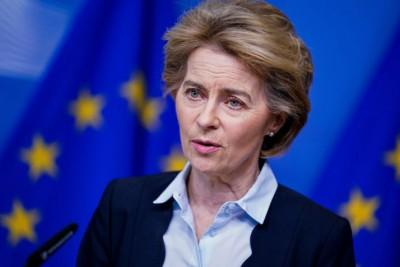 Von der Leyen: Ζητά απόλυτο σεβασμό της συμφωνίας Βρετανίας - Βρυξελλών - Τη δέσμευση σε αυτήν επιβεβαιώνει η Βρετανία
