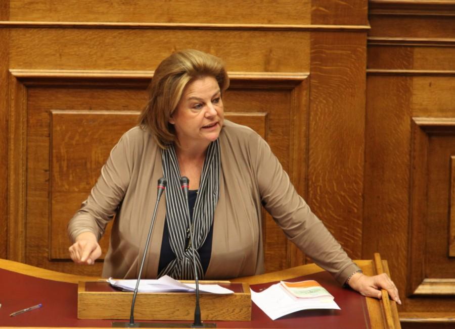 Δεν αναλαμβάνει επικεφαλής για το σχέδιο «αντι-Πισσαρίδη» η Λούκα Κατσέλη