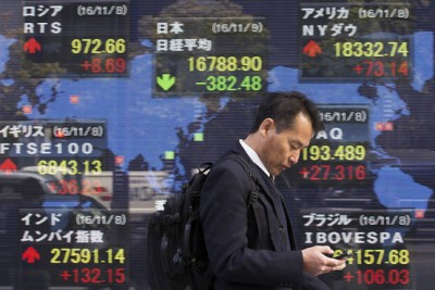 Ήπιες μεταβολές στις αγορές της Ασίας - Στο -0,4% το Nikkei 225