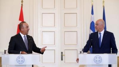 «Κλείδωσε» η συνάντηση Μητσοτάκη με Erdogan στις 14/6 - Το παρασκήνιο των επαφών Cavusoglu στην Αθήνα
