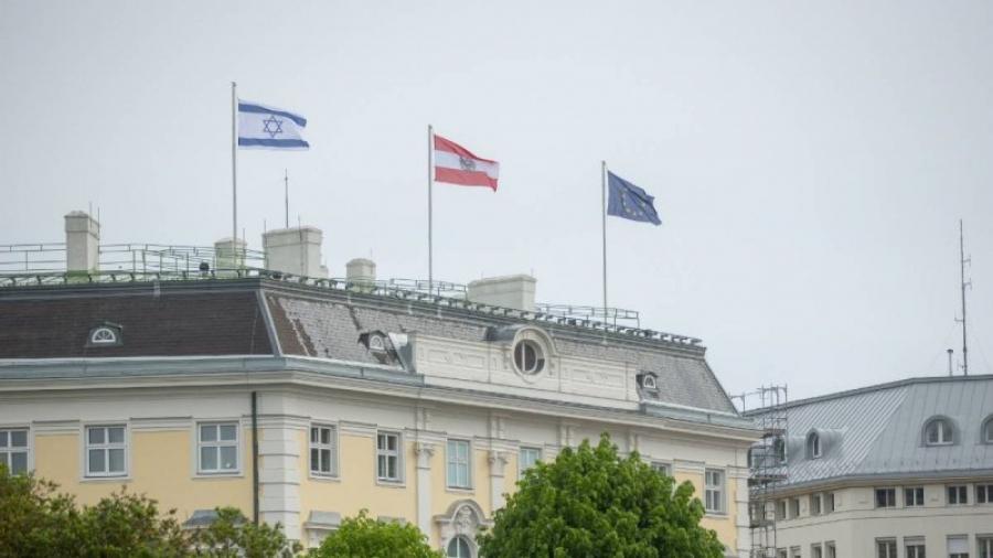 Αυστρία: Σημαία του Ισραήλ ύψωσε στην καγκελαρία ο S. Kurz