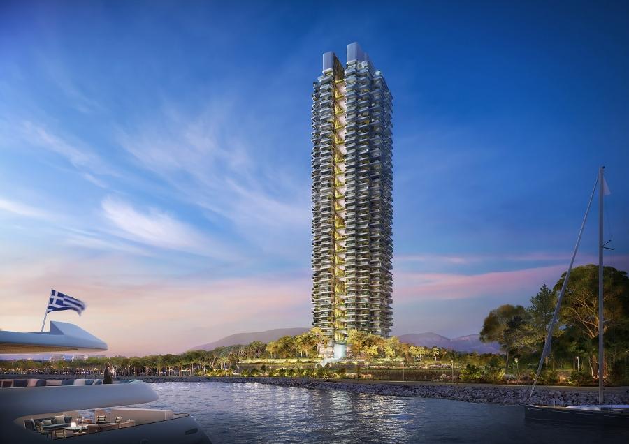 Lamda Development: Ο πρώτος πράσινος ουρανοξύστης στο Ελληνικό
