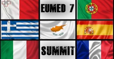 Αυστηρό μήνυμα Med7: H Τουρκία να σεβαστεί την κυριαρχία των κρατών - μελών - Καταδικάζουμε την οργάνωση μεταναστευτικών ροών
