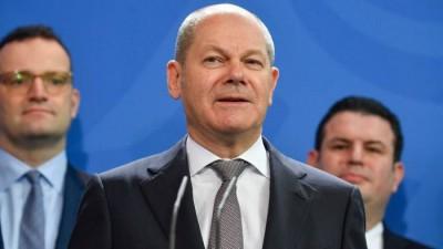 Scholz (ΥΠΟΙΚ Γερμανίας): Στο 80% του ΑΕΠ θα φτάσει το χρέος της χώρας μετά τον κορωνοϊό
