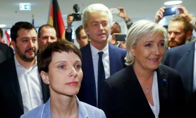 «Καλπάζουν» τα ακροδεξιά κόμματα στην Ευρώπη - Σε ποιες χώρες είναι πιο ισχυρά