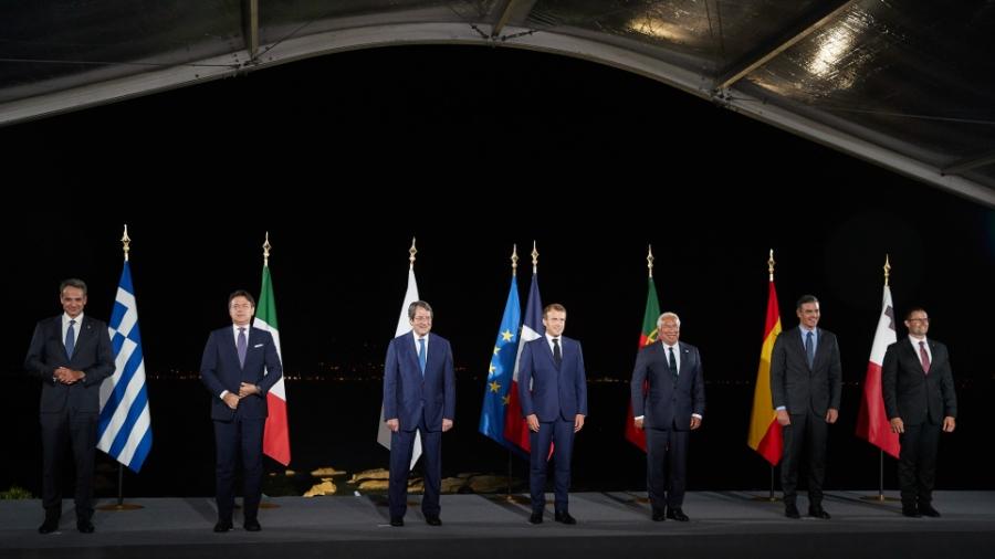 Διάσκεψη EUMED9 - Στην Αθήνα αύριο 17/9 Macron, Draghi, von der Leyen - Οι συναντήσεις Μητσοτάκη