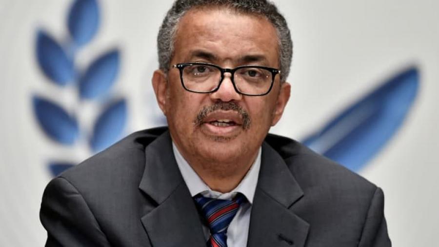 Tedros (Επικεφαλής ΠΟΥ): Να επιτευχθεί συμφωνία στο πλαίσιο της G7 για άρση της προστασίας της πατέντας για τα εμβόλια