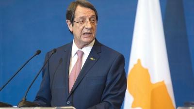 Αναστασιάδης: Είναι εμφανές ότι ουδείς αποδέχεται τις αξιώσεις της Τουρκίας για το Κυπριακό
