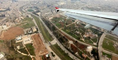 Συρία: Την πρώτη του πτήση δέχτηκε, μετά από οχτώ χρόνια διακοπής, το αεροδρόμιο του Χαλεπιού