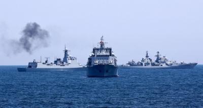 Ιράν και Ρωσία συμμετέχουν σε ναυτικές ασκήσεις στον Ινδικό Ωκεανό